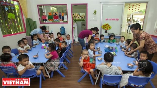 越南幼儿园跻身世界典范建筑提名单 hinh anh 8