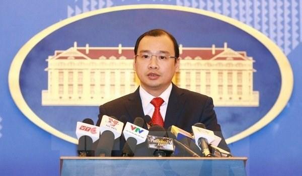 越南外交部发言人黎海平:在巴平岛上采取的行为是严重侵犯越南主权 hinh anh 1