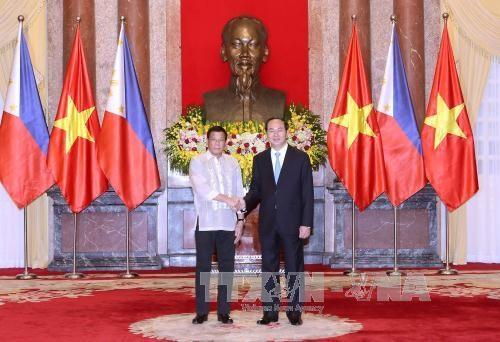 越南与菲律宾发表联合声明 hinh anh 1