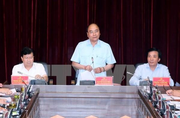 阮春福总理:奠边省应采取突破性措施来促进旅游业全面发展 hinh anh 1
