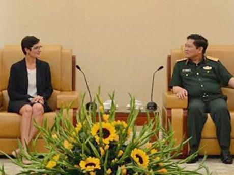 越美举行第七次国防政策对话 hinh anh 1