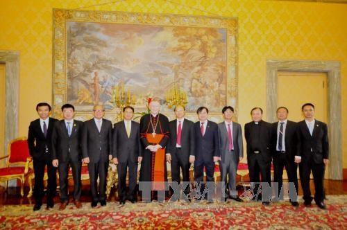 越南外交部副部长裴青山对梵蒂冈进行工作访问 hinh anh 1