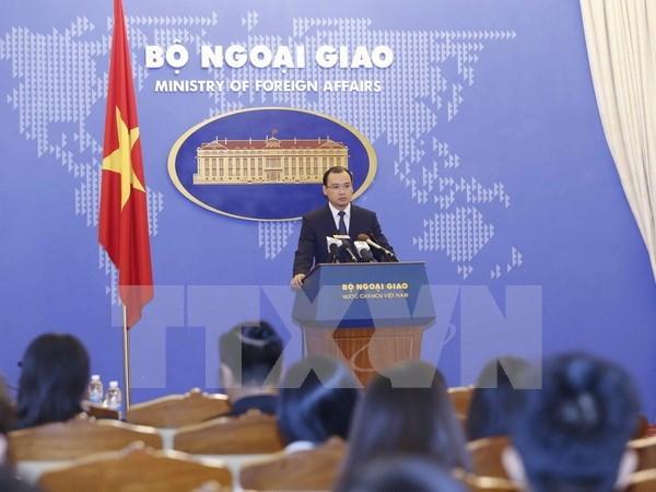越南强烈反对印尼职能力量对越南渔船和渔民动用武力 hinh anh 1