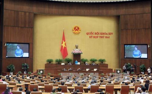 越南第十四届国会第二次会议发表第二十一号公报 hinh anh 1