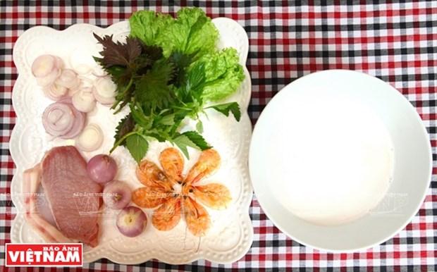 越南美食:清化春卷 hinh anh 2