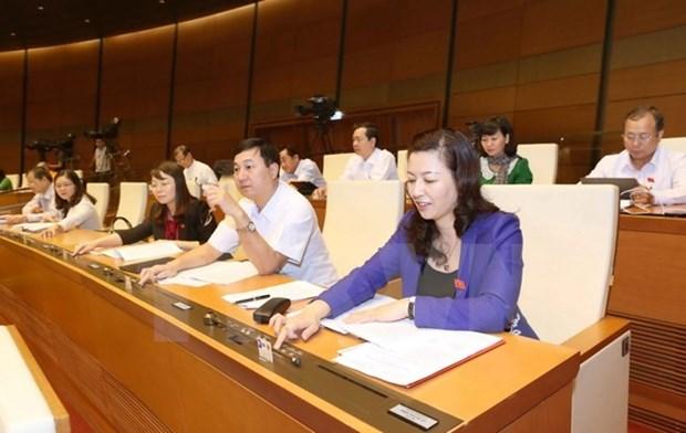 越南第十四届国会第二次会议:国会通过《宗教信仰法》 hinh anh 1