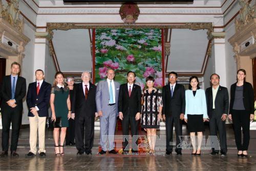 胡志明市与比利时东弗兰德省加强农业合作 hinh anh 1