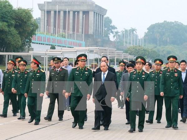 胡志明主席陵墓完成长达3个月的维修保养 明天(12月6日)开始对外开放 hinh anh 1