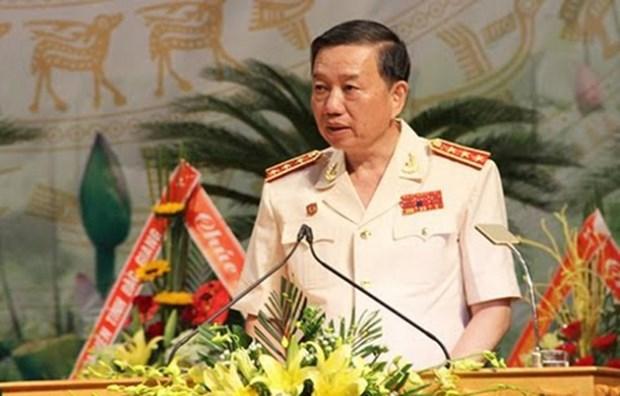 越南公安部长苏林访问泰国 hinh anh 1