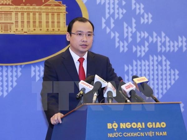 越南外交部发言人黎海平: 越南一贯主张促进和保障人权 hinh anh 1