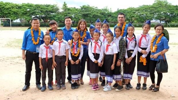 越南首都河内青年培育越老特殊团结友好关系 hinh anh 1