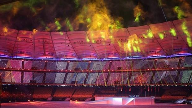 第29届东南亚运动会在马来西亚隆重开幕 hinh anh 1