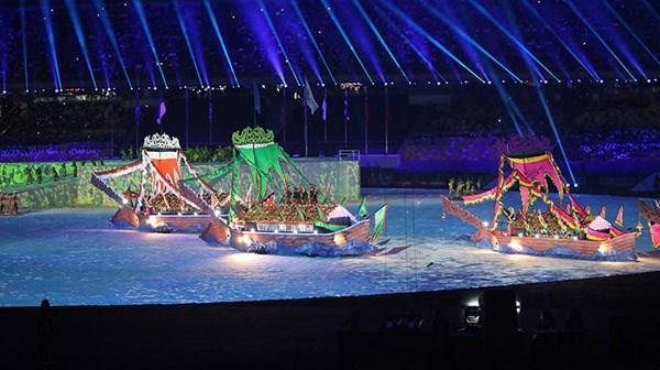 第29届东南亚运动会在马来西亚隆重开幕 hinh anh 2