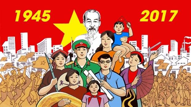 越南八月革命及革新征程 hinh anh 1