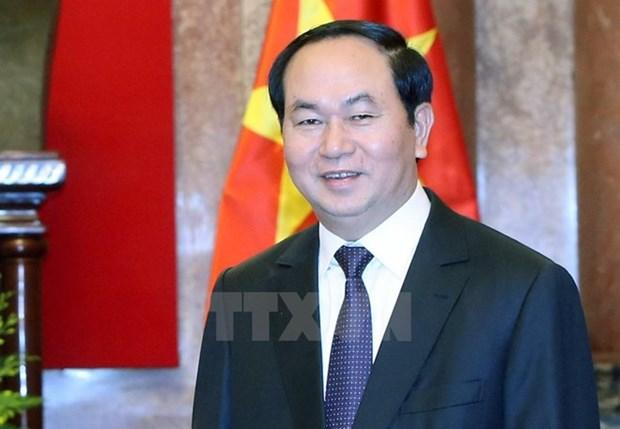 越南国家主席陈大光:朝着提质、增效、务实方向推动越老特殊关系迈上新高度 hinh anh 1