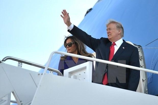 美利坚合众国总统唐纳德·特朗普即将对越南进行国事访问 hinh anh 1