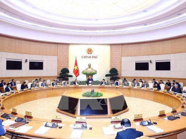 政府召开2017年最后一场会议 hinh anh 1