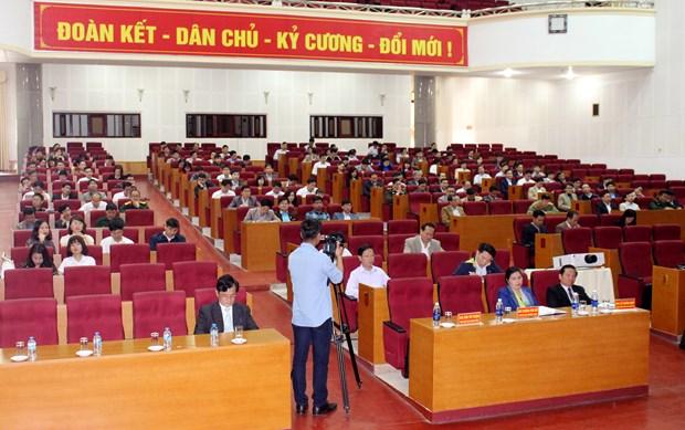 莱州省举行2018年对外信息工作培训会议 hinh anh 3