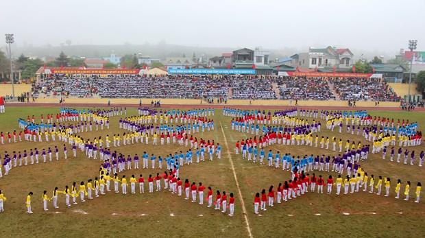 中国云南省西双版纳州体育代表团参加第4届莱州省体育运动会 hinh anh 6