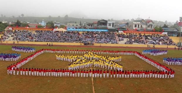 中国云南省西双版纳州体育代表团参加第4届莱州省体育运动会 hinh anh 8