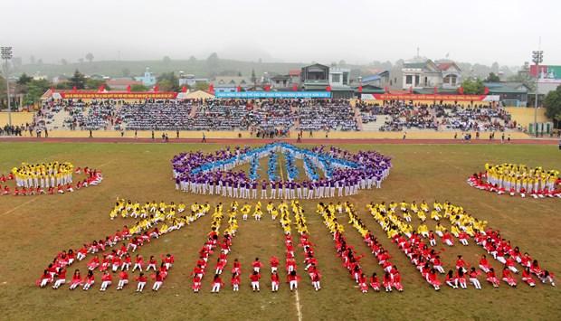 中国云南省西双版纳州体育代表团参加第4届莱州省体育运动会 hinh anh 9