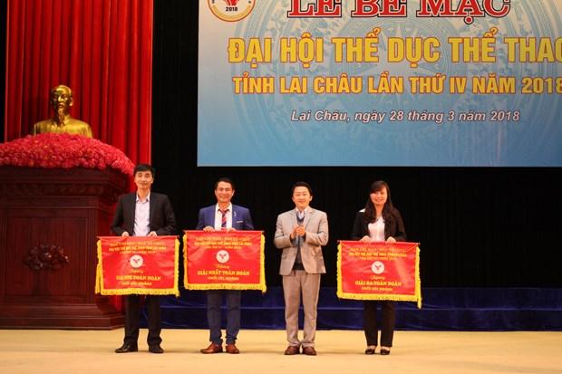 中国云南省西双版纳州体育代表团参加莱州省体育运动会有助于增进两省睦邻友好 hinh anh 2