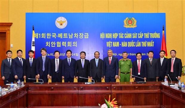 越南与韩国加强打击犯罪领域的合作 hinh anh 2