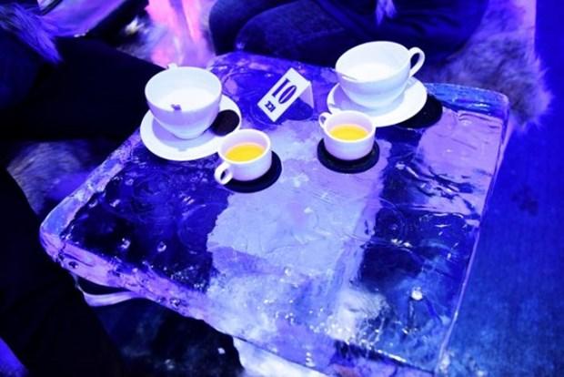 夏天来冰室咖啡屋体验河内寒冷冬天的感觉 hinh anh 4
