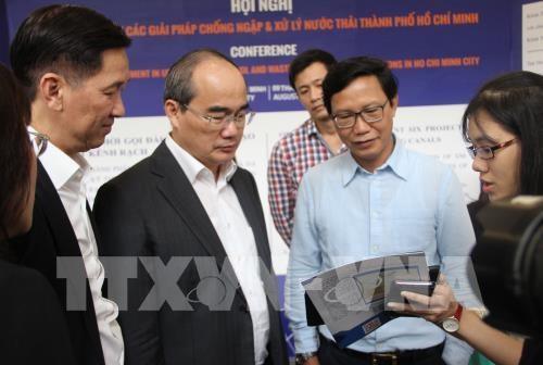 胡志明市为17个内防涝项目吸引投资 hinh anh 1
