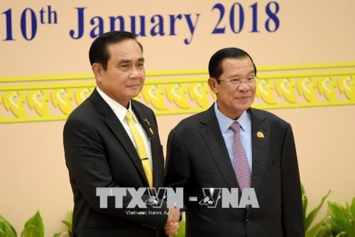 泰国总理祝贺柬埔寨人民党在大选中获胜 hinh anh 1