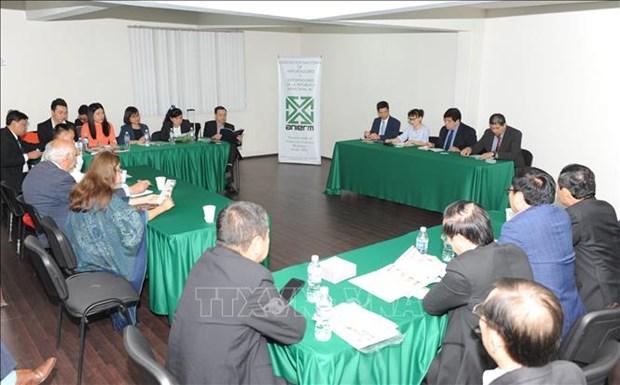 越南企业代表团赴墨西哥寻找商机 hinh anh 2