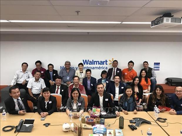 越南企业代表团赴墨西哥寻找商机 hinh anh 1