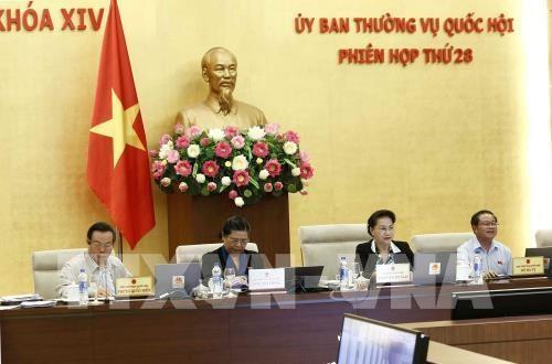 越南国会常委会第28次会议:第十四届国会第六次会议将选举产生国家主席 hinh anh 1