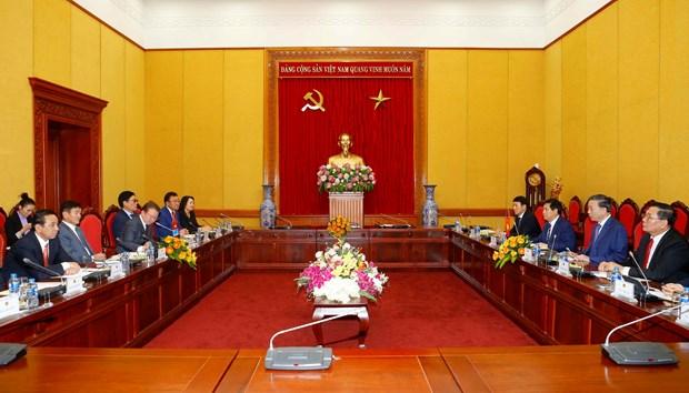 越南与蒙古国加强合作 hinh anh 1