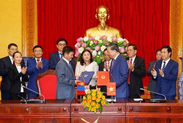 越南与蒙古国加强合作 hinh anh 2