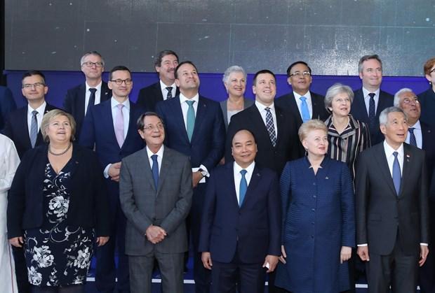 第十二届亚欧首脑会议圆满闭幕 hinh anh 1