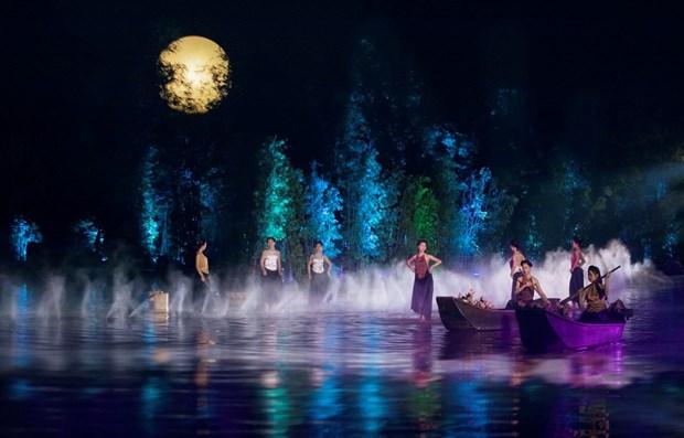 《北部精华》实景舞台剧——推介越南文化旅游的两年历程 hinh anh 1