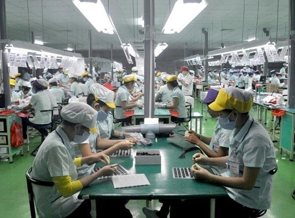 永福省电力及电子辅助产业增长8% hinh anh 1
