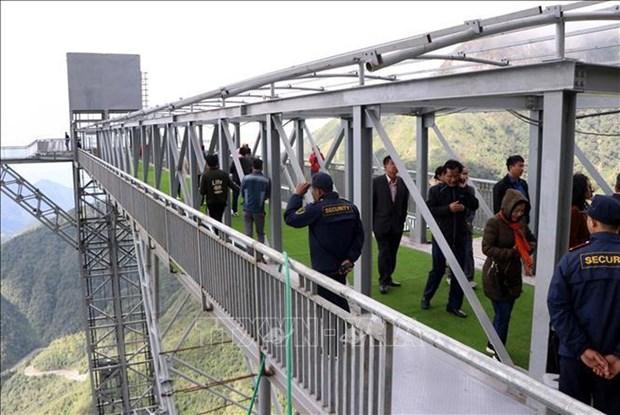莱州省云龙玻璃桥生态旅游区开门迎客 hinh anh 3