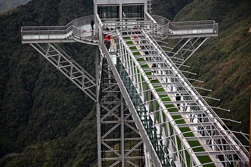 莱州省云龙玻璃桥生态旅游区开门迎客 hinh anh 2