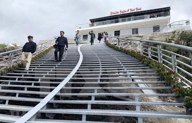 莱州省云龙玻璃桥生态旅游区开门迎客 hinh anh 1