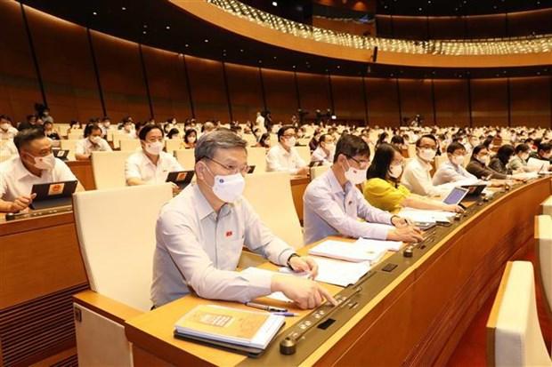 越南第十五届国会第一次会议:任期2021~2026年越南政府组织机构包括18个部委和4个部级机构 hinh anh 2