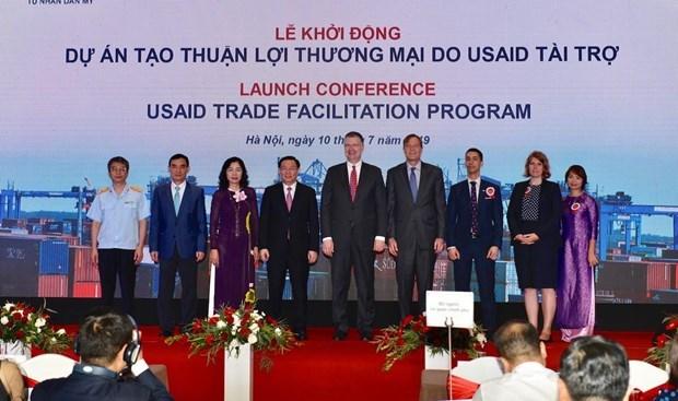 由美国资助的贸易便利化计划项目正式启动 hinh anh 3