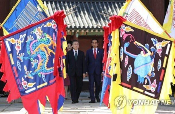 韩国与印尼即将进行自由贸易协定谈判 hinh anh 1