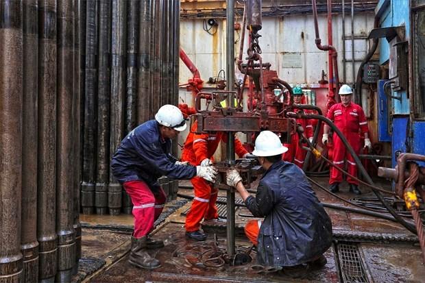 在钻井平台和石油工程上提前过春节 hinh anh 3