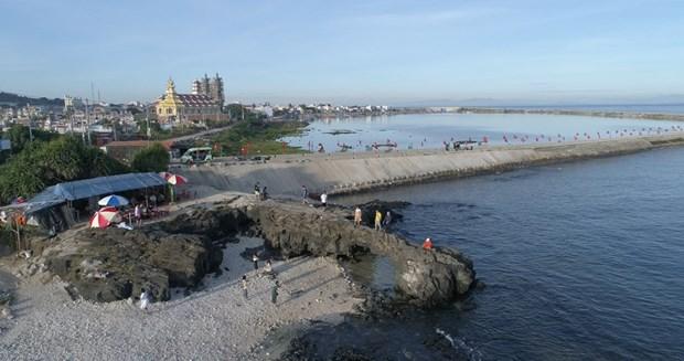 组图:航拍镜头下的广义省李山岛美景 hinh anh 12
