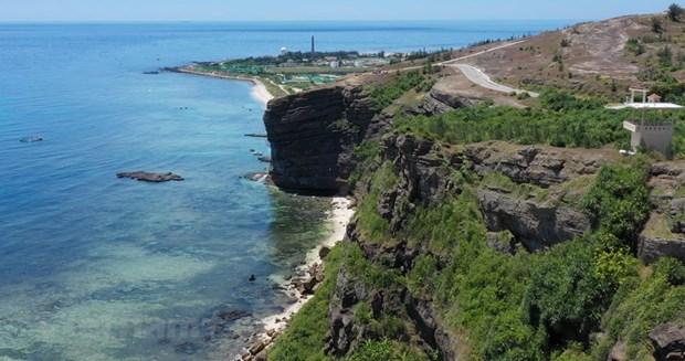 组图:航拍镜头下的广义省李山岛美景 hinh anh 8