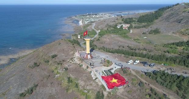 组图:航拍镜头下的广义省李山岛美景 hinh anh 9