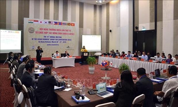 亚洲农民合作组织各国分享应对气候变化的成功经验 hinh anh 1