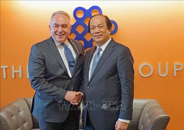 越南与美国国际开发署促进双方的合作关系向前发展 hinh anh 2